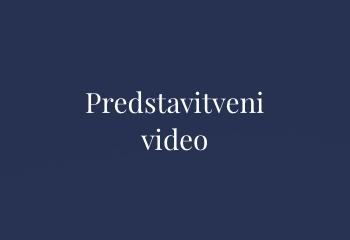 1 Predstavitveni video
